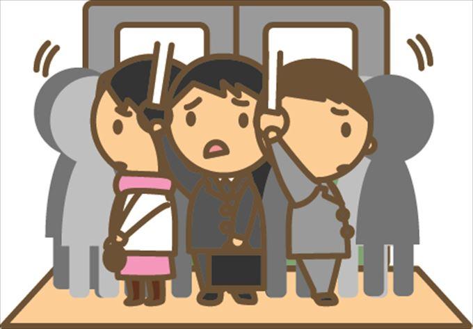 満員電車 ストレス 解消_R