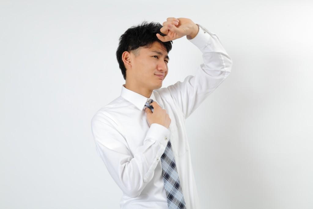 ワイシャツ,黄ばみ,防止 (2)
